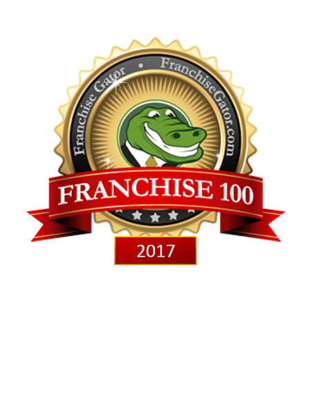 Award Winning Franchise Opportunity - Franchise 100 - 2017